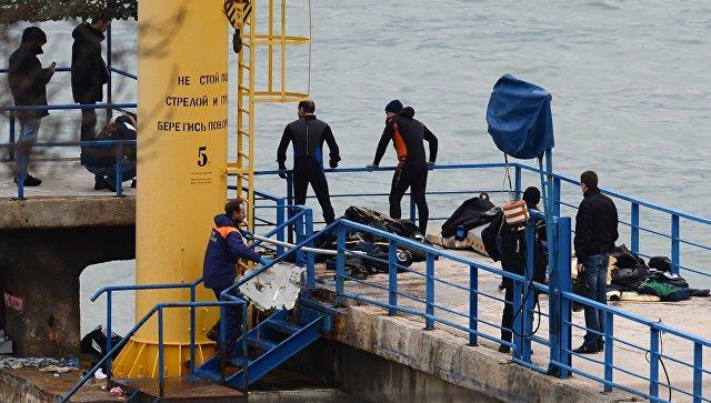 МЧС отчиталось оработе засутки наместе катастрофы Ту-154