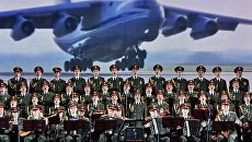Ансамбль песни и пляски Российской Армии имени Александрова на концерте, посвященном Дню Союзного государства в Витебске