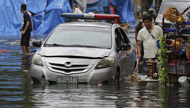 Бушующий тайфун «Нок-Тен» обвалился наФилиппины, нарождество