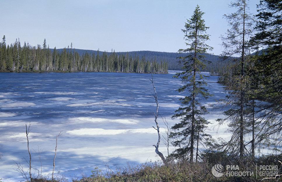 Лапландский заповедник. Озеро Ель-нюн-Явр