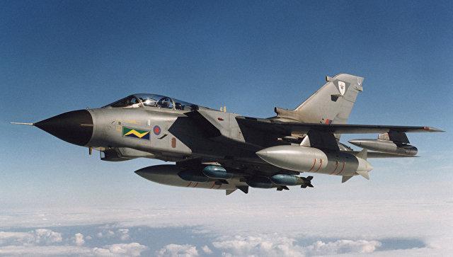 Истребитель Tornado. Архивное фото