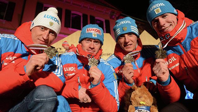 Лыжники Белов, Вылегжанин, Легков иПетухов отстранены от интернациональных состязаний