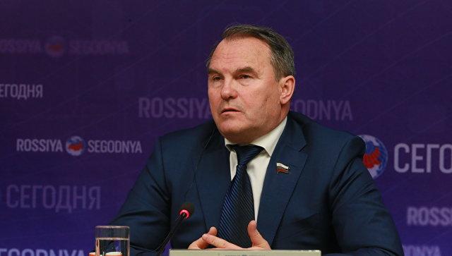 Игорь Морозов, член комитета Совета Федерации по международным делам. Архивное фото