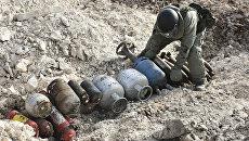 Работа инженеров в Сирии. Архивное фото