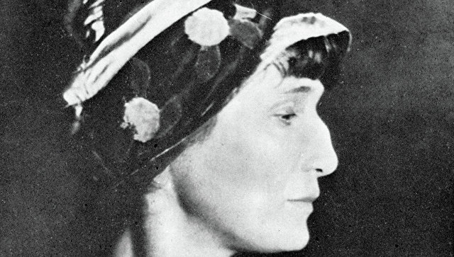 Поэтесса Анна Ахматова. Архивное фото
