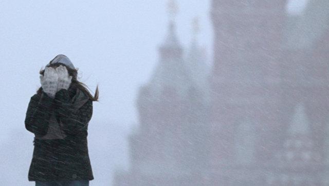 МЧС предупредило граждан столицы обаномально холодной погоде вближайшие дни