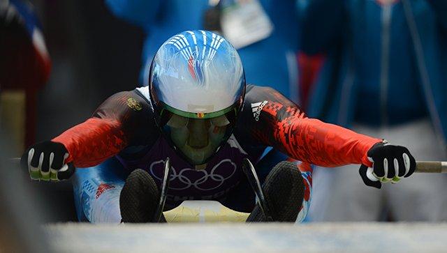 Саночник Семен Павличенко одержал победу этап Кубка мира
