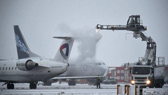 Ваэропортах столицы отменены либо задержаны свыше 100 рейсов