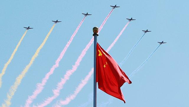 Пекин в день празднования 70-летия окончания Второй мировой войны