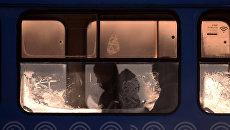 Городской автобус на одной из улиц Москвы. Архивное фото