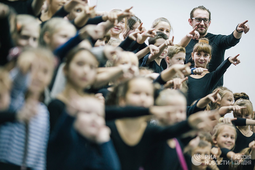 Актер Константин Хабенский на открытии студии творческого развития CLEVER в Иванове