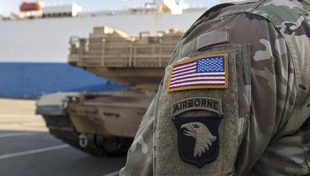 Военные в США. Архивное фото