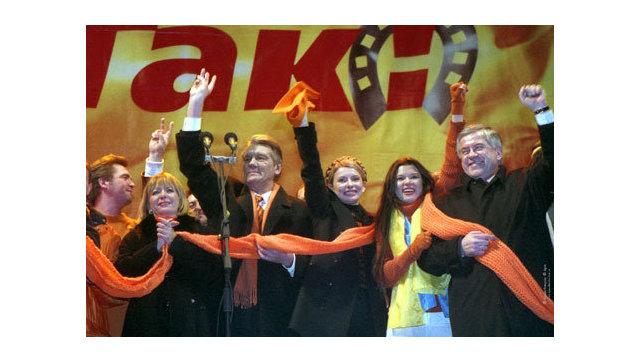 Ющенко поведал, кто использовал Майдан
