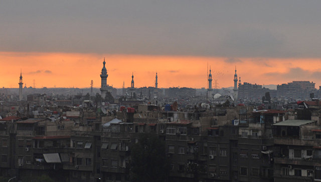 Дамаск на рассвете. Архивное фото