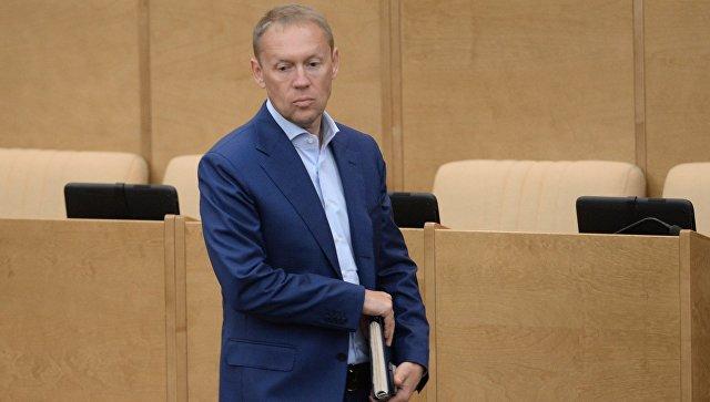 Заместитель председателя комитета Государственной Думы РФ по безопасности и противодействию коррупции Андрей Луговой