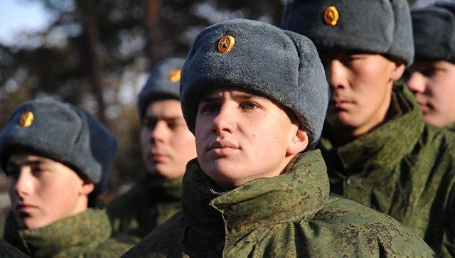 Построение солдат. Архивное фото