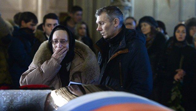 В Архангельске простились с погибшим при крушении Ту-154 Дмитрием Рунковым