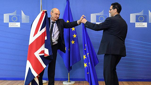 Мэй объявит овыходе Великобритании из цельного рынка и пограничного союзаЕС
