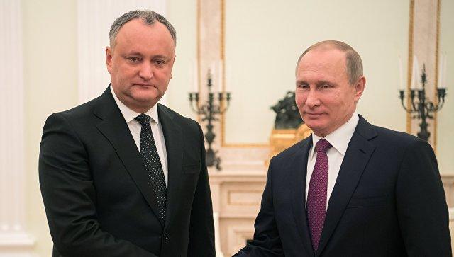 На что надеется президент РФ в Молдове?