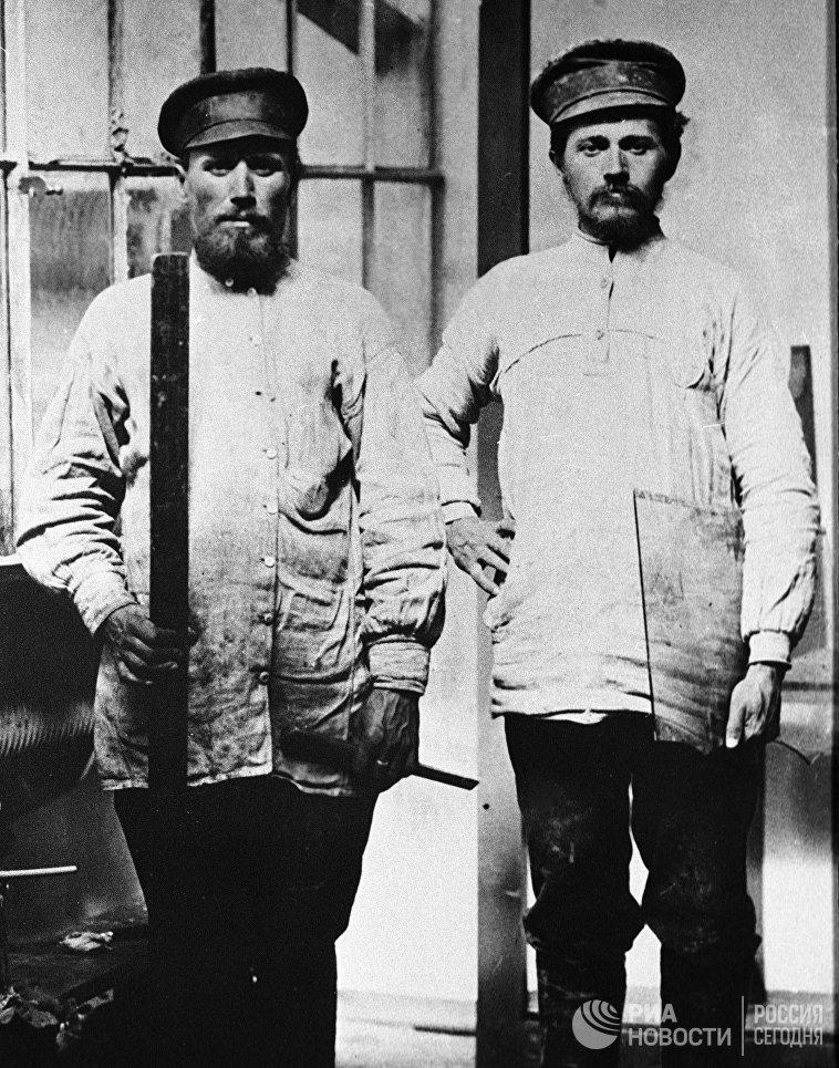 Стекольщики. Москва. 1913 год