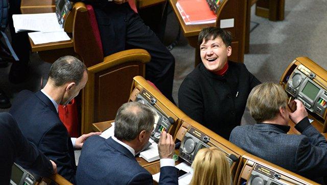 Савченко назвала главных врагов украинского народа