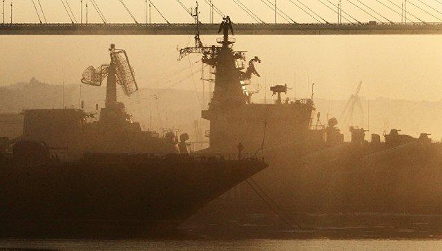 Корабли Тихоокеанского флота. Архивное фото