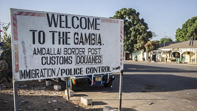 Новый президент Гамбии будет принимать присягу вСенегале