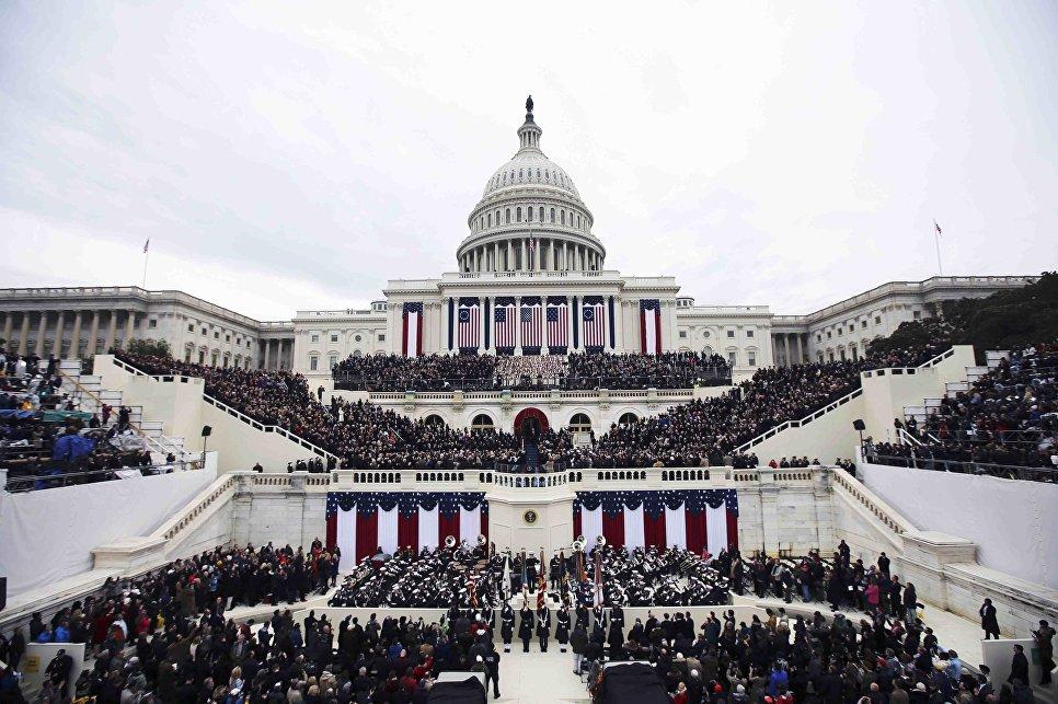 Церемония инаугурации 45-го президента США, Вашингтон. 20 января 2017