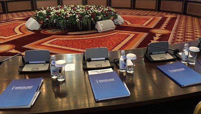 Делегация Дамаска покинула отель в Астане, где проходят переговоры
