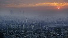 Панорама Алеппо. Архивное фото