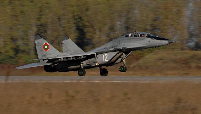 Самолет МиГ-29 ВВС Болгарии. Архивное фото.