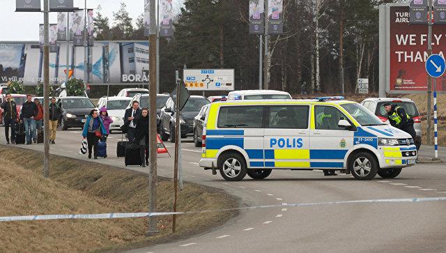 Шведская милиция обезвредила взрывное устройство влагере для беженцев