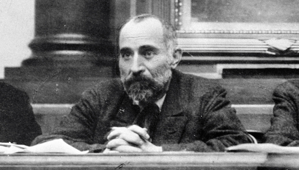 Российский и грузинский политический деятель, один из лидеров меньшевиков Николай Семенович Чхеидзе
