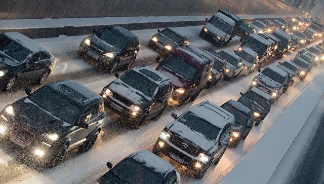 Дорогу «Дудинка— Норильск» закрыли из-за метели