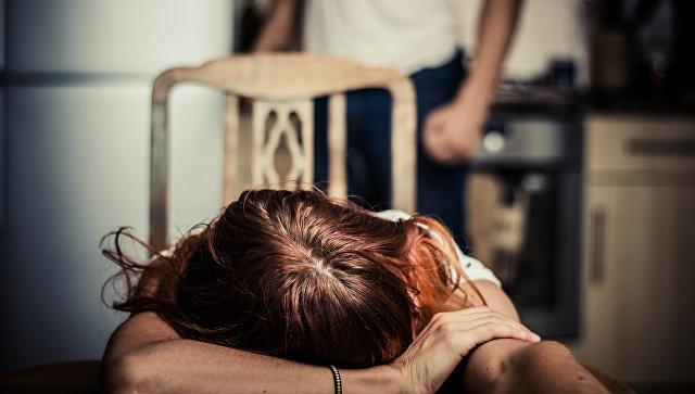 Жертва домашнего насилия
