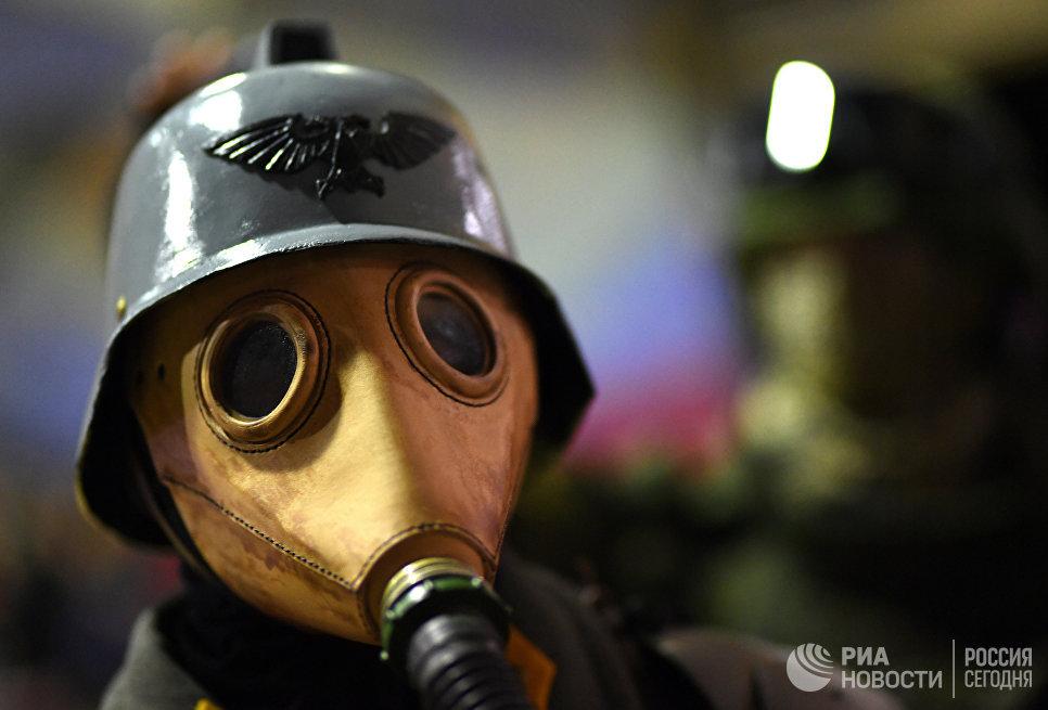 Участник аниме-фестиваля AniMatrix во Дворце культуры и техники МАИ в Москве