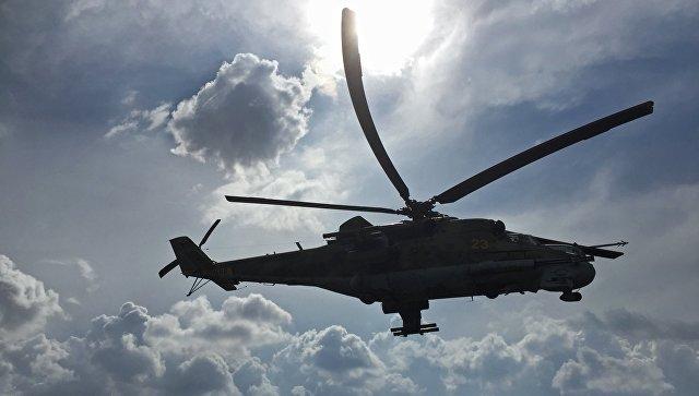Ми-24. Архивное фото