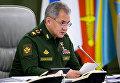"""Шойгу ответил Фэллону, призвавшему Россию не """"совать лапы в Ливию"""""""