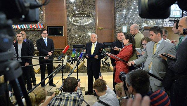 Встреча контактной группы по Украине. Архивное фото