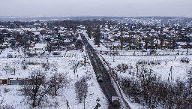 Панорама Авдеевки. 1 февраля 2017