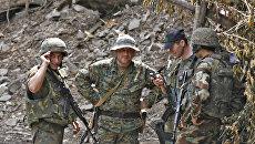 Грузинские военные. Архивное фото