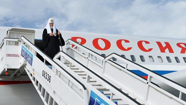 Патриарх Кирилл планирует посетить Сирию