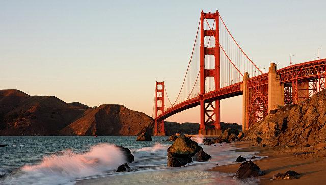 Сан-Франциско, мост Золотые Ворота. Архивное фото