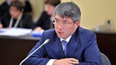 Временно исполняющий обязанности главы Республики Бурятия Алексей Цыденов. Архивное фото