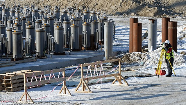 Строительство завода по производству сжиженного природного газа на Ямале