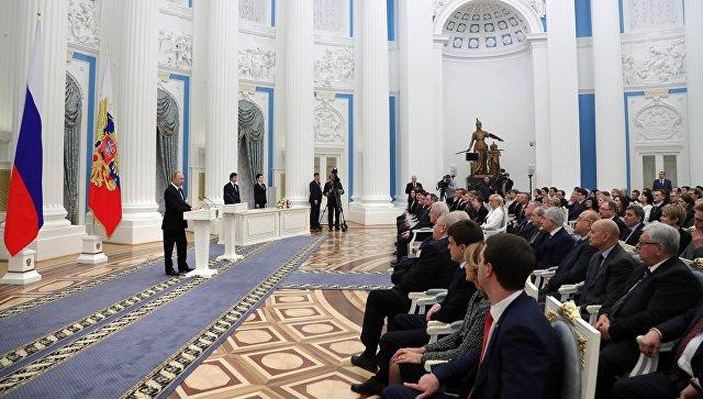 Президент РФ подписал указ оприсуждении ученым премий заинновационные исследования