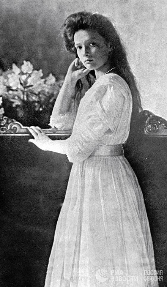 Великая княжна Татьяна - дочь российского императора Николая II