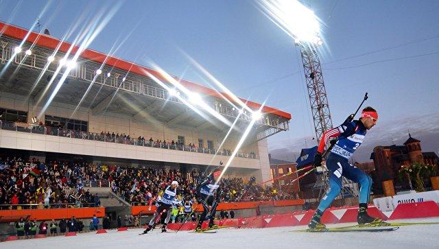 В СФ прокомментировали бойкот США этапа Кубка мира по биатлону в России