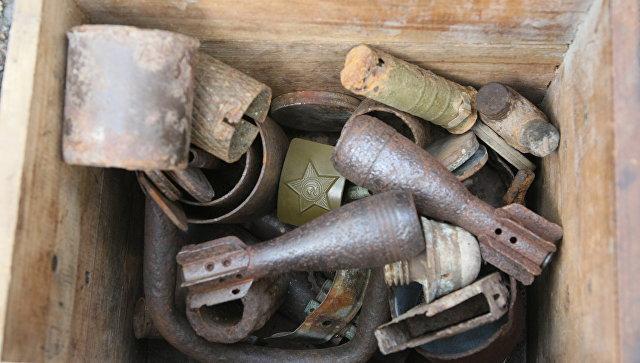 Уволгоградца дома отыскали пистолет-пулемет иобрез винтовки Мосина