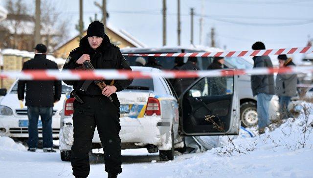 Украинские силовики устроили стрельбу вХарькове из-за блокады Донбасса